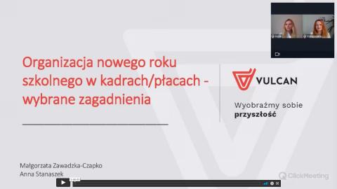 Organizacja nowego roku szkolnego w kadrach/płacach - wybrane zagadnienia [nagranie z webinarium]