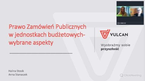 Zamówienia publiczne w jednostkach budżetowych [nagranie z webinarium] - CUW