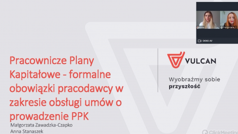 Pracownicze Plany Kapitałowe - formalne obowiązki pracodawcy w zakresie obsługi umów o prowadzenie PPK [nagranie z webinarium]